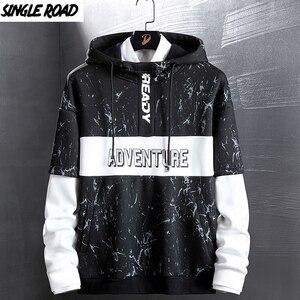 Image 1 - SingleRoad Mens Hoodies Men Women Autumn Camo Sweatshirt Men Hip Hop Harajuku Japanese Streetwear Black Hoodie Sweatshirts Male