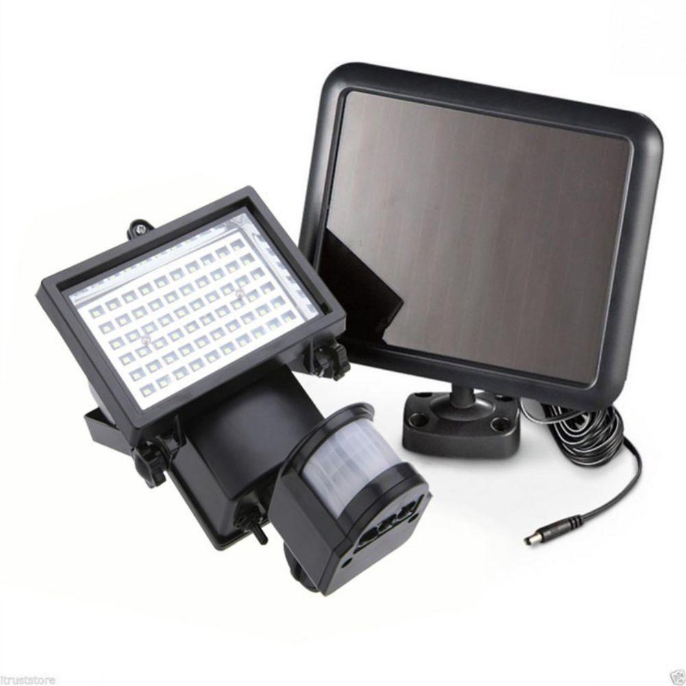 120 LED Solar Light Waterproof Outdoor Wall-mounted Motion Sensor Garden Light Spotlight Super Bright LED Security Light