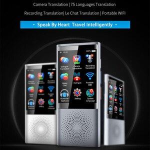 "Image 1 - Mecool W1愛音声写真翻訳2.8 ""タッチスクリーン4グラムwifi 8グラムメモリ2080 2600mah 75言語旅行ビジネスオフライン翻訳"