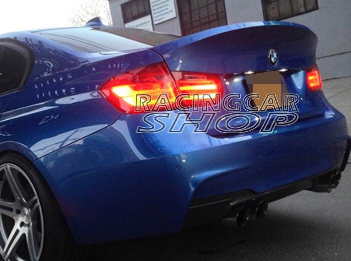 Maletero trasero estilo CSL pintado para BMW Serie 3 F30 Sedan 2012UP B174F