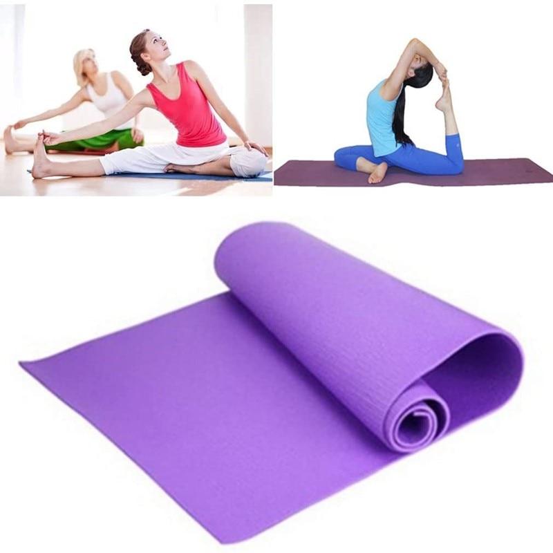 4mm EVA Yoga Mat Indoor Fitness Thick Anti-slip Pad Exercise Pilates Yoga Mats Gymnastics Sport Blanket Loose Weight Pads