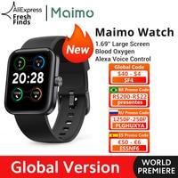 【World Premiere】Global Version Maimo Smart Watch 1.69 1