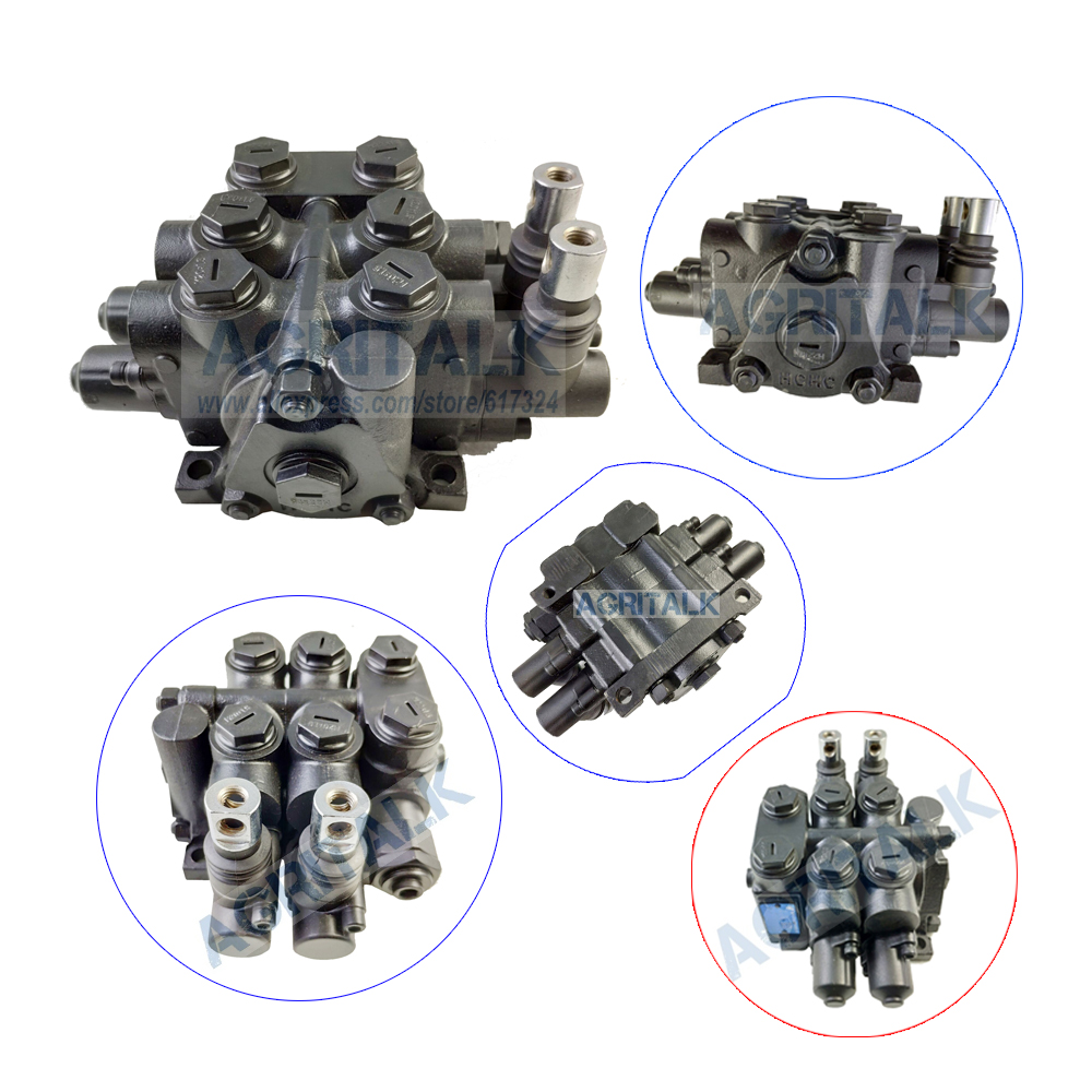 The Multi Ways Valves Control For Dongfeng DF554 Tractor, Part Number:  ZD5-L10E-T/00-1