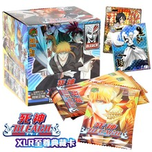 Bleach Kurosaki Ichigo Inoue Orihime Ishida Uryuu Sado Yasutora Kisuke Anime Game Collection Cards Kids Boys Toys For Children