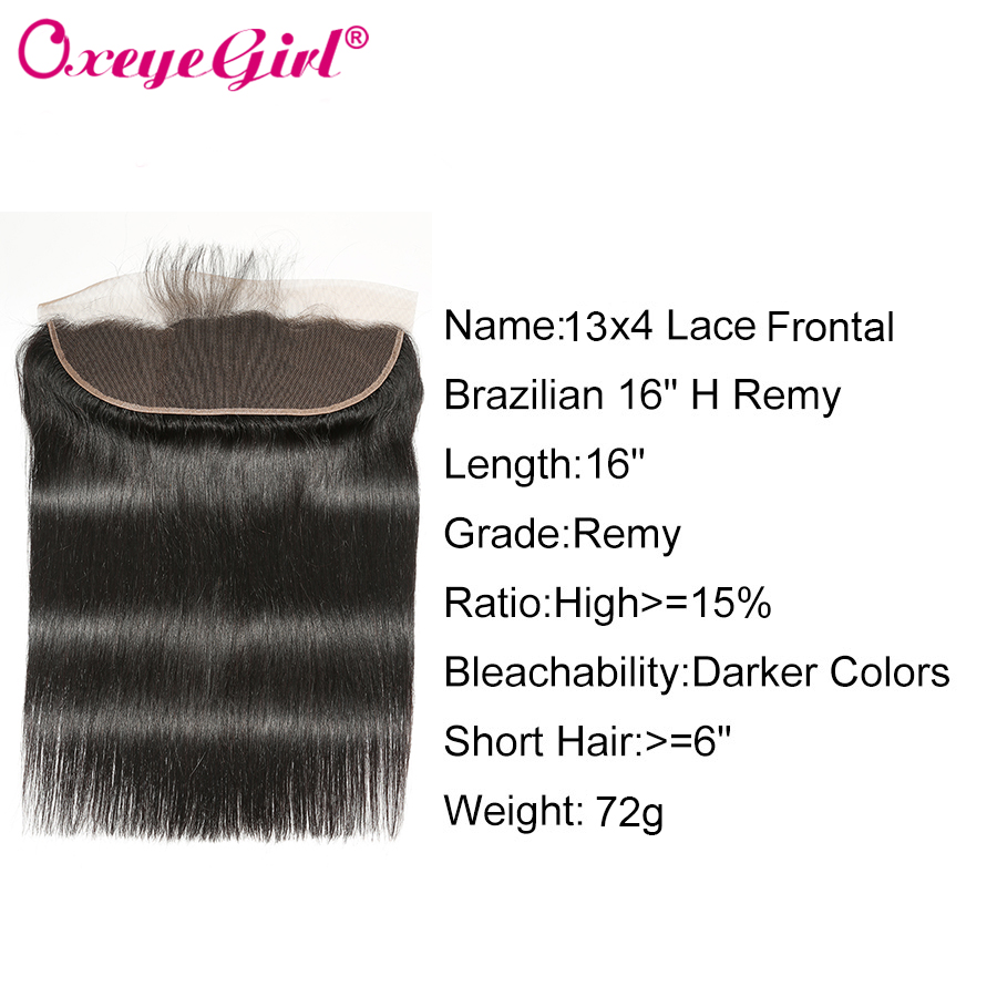 H30336361c9da40eda4bbadac7ccd75f85 Straight Hair Bundles With Frontal Peruvian Hair Lace Frontal With Bundles 3 Human Hair Bundles With Closure Oxeye girl Non Remy
