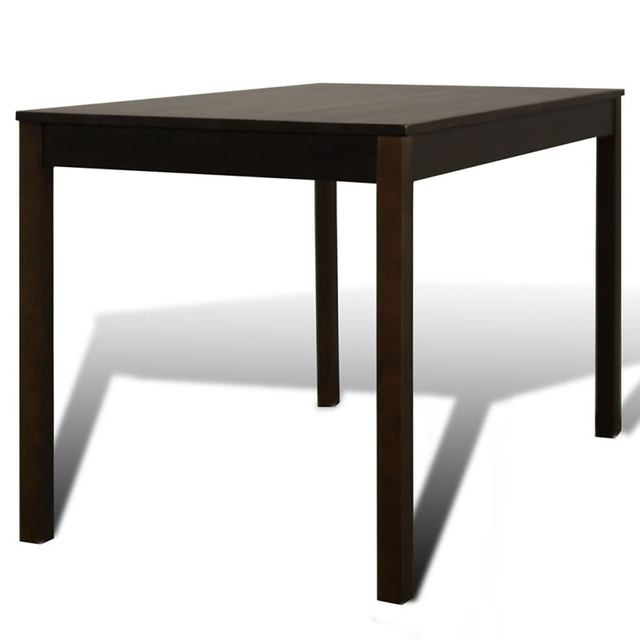 Wooden Dining Table with 4 Chairs 5
