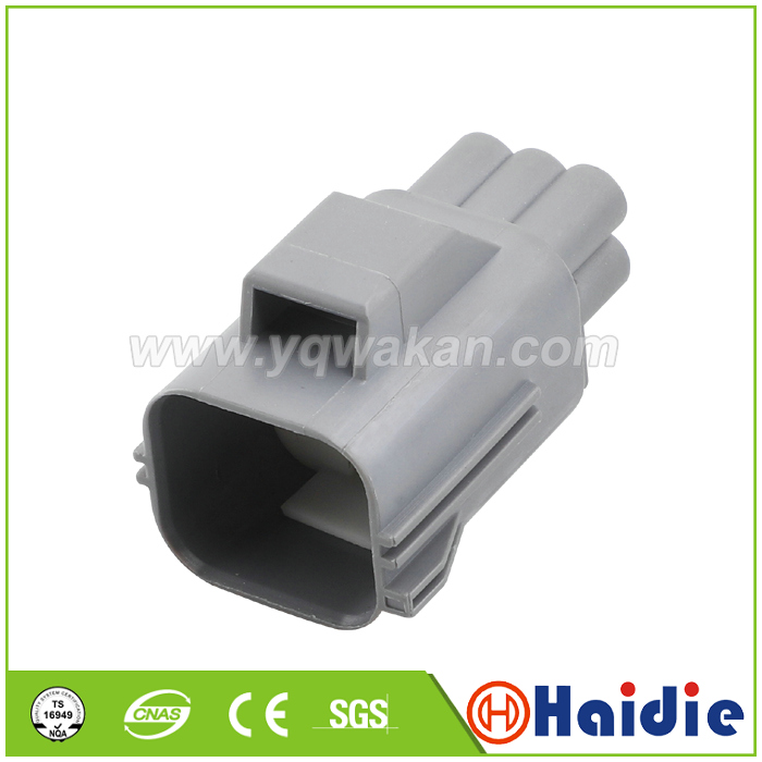 Free shipping 2sets 6pin male of 7283 5553 10 auto waterproof housing plug wiring  connector 7282 5553 10|Connectors| |  - title=