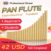 UU Pan Flute 22 Pipes G Key Tunable Flauta ABS Plastic PanFlute Professional Pan Pipe Woodwind Musical Instrument Panpipes
