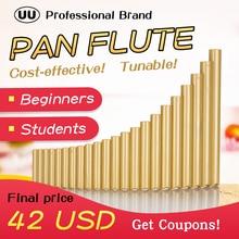 UU Pan Flute 22 Pipes G Key Tunable Flauta ABS Plastic PanFl