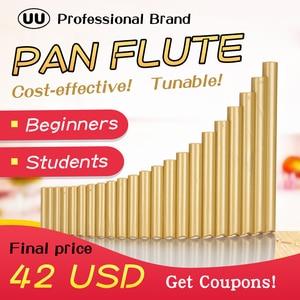 UU Pan Flute 22 Pipes G Key Tu