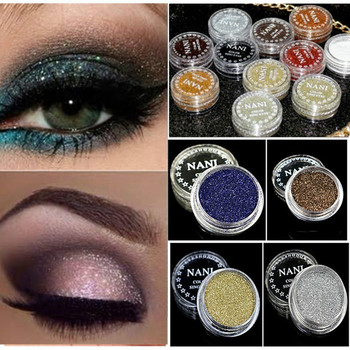 Fashion Shining Black Eyeshadow Pearlescent Makeup Glitter Pigment Smoky Eye Shadow Pallete Waterproof Cosmetics Eye Shadow #nr3 2