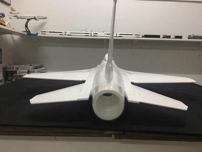 Zestaw odrzutowiec EPO F16 70mm EPO RC EDF w kolorze białym