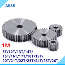 цена на 1vMold is 45 # steel pinion and rack straight gear is gear 10 mm thickness 8 to 200 tooth hole process