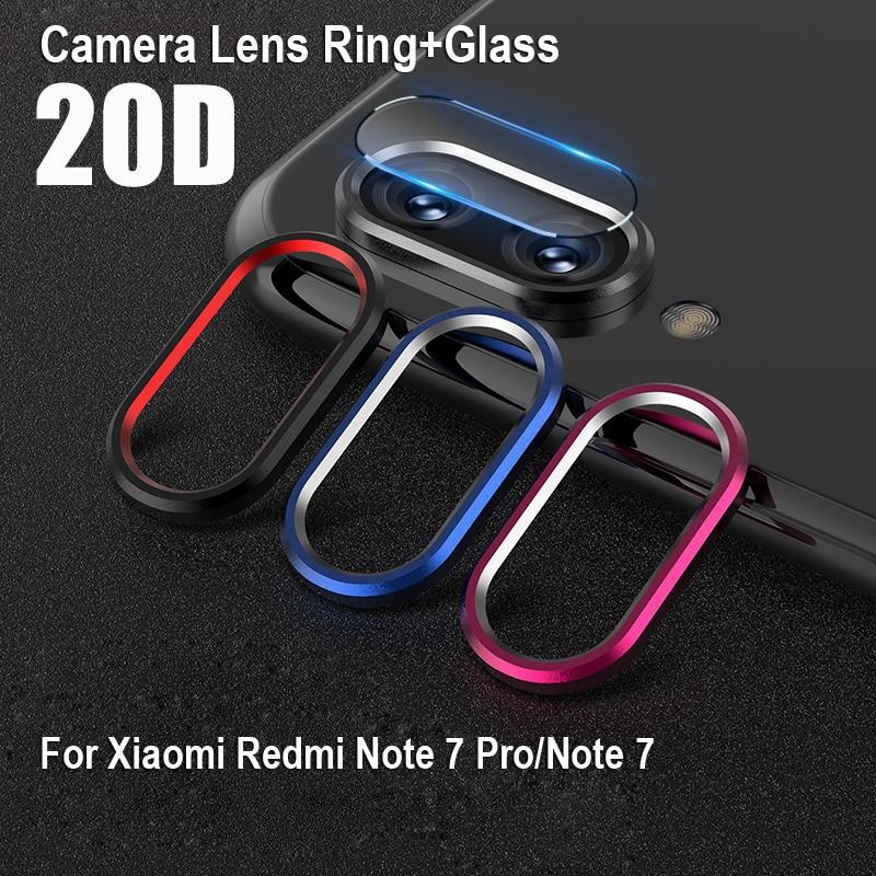 For Xiaomi RedMi Note 7 Case on Xiomi Redmi Note 7 8 K20 Pro Note7 Red Mi K 20 Cover Rear Camera Tempered Glass Screen Protector(China)