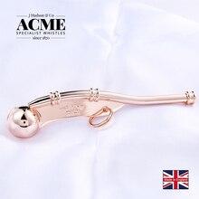 ACME Boatswain Pipe Whistle Classic Marine Sailor Communication Rose Golden 150 Db Gift Box Version Music Whistle