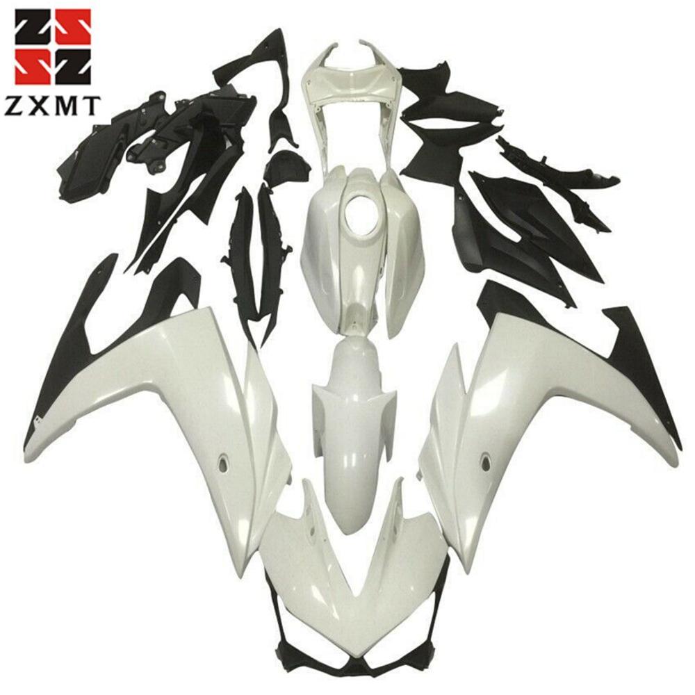 Pieces//kit: 21 ZXMOTO Motorcycle Injection Bodywork Fairing Kit for 2004-2005 Honda CBR 1000 RR 1000RR 04-05 Gloss Black