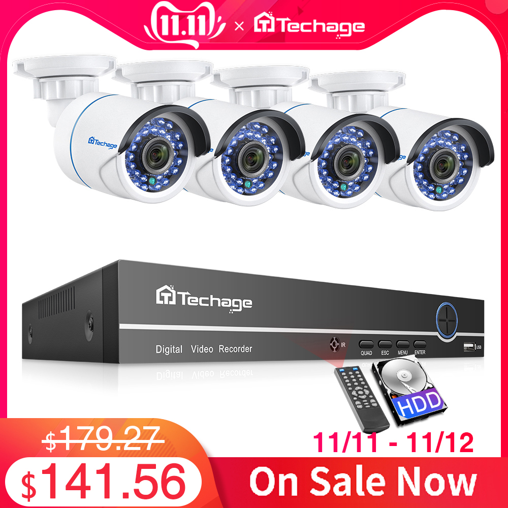 H.265 8ch 1080 p poe nvr kit sistema de cctv até 16ch nvr 2mp câmera ip áudio ir ao ar livre p2p onvif vigilância de segurança vídeo conjunto