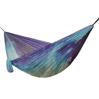 Unique Ocean Parachute Hammock Camping Hanging Chair Garden Swing Furniture Printing Parachute Fabric Sleeping Bed