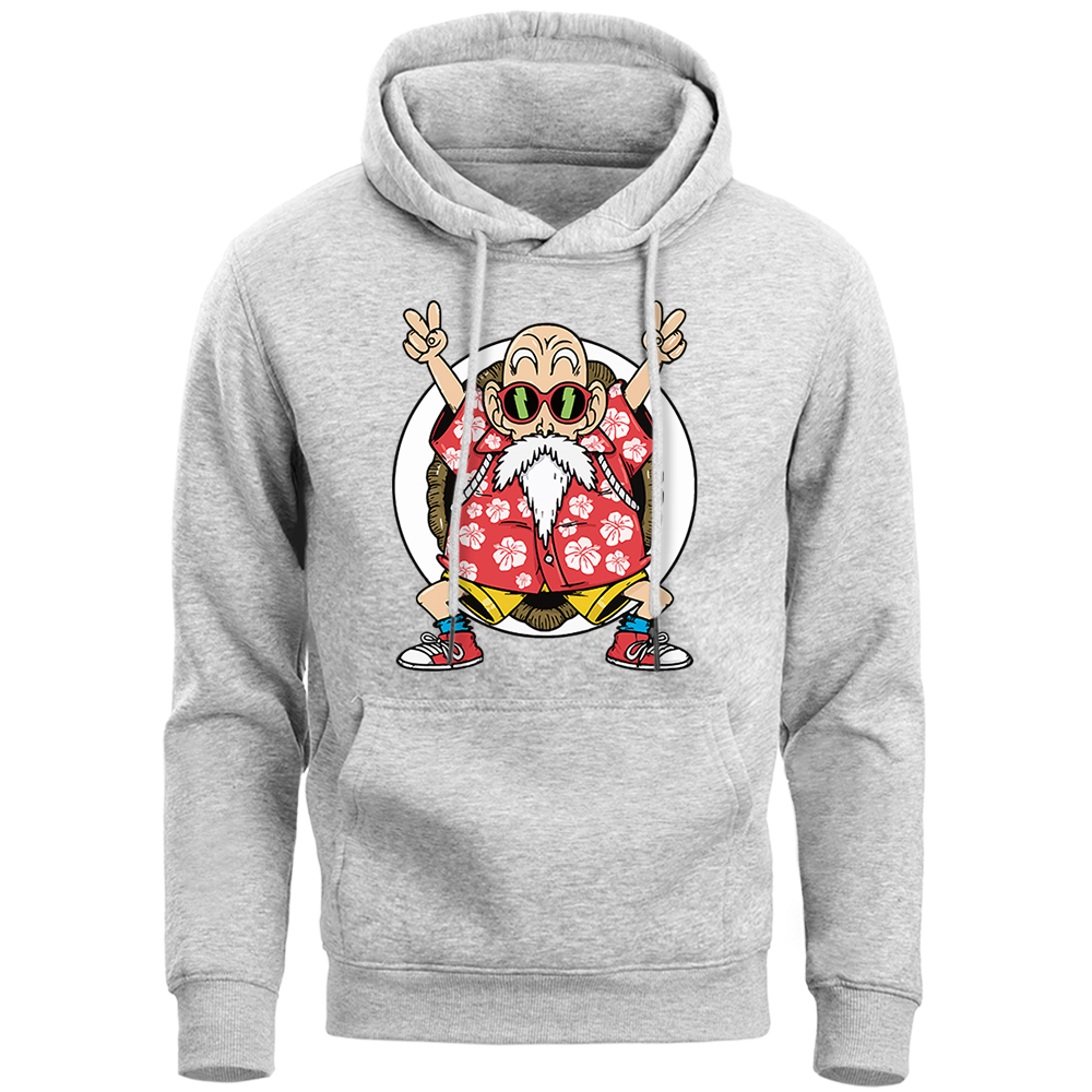 Master Roshi Dragon Ball Super Sai Yan Funny Hoodie Sweatshirt Men 2019 Spring Autumn Japan Anime Fleece Hooded Harajuku Hoodies