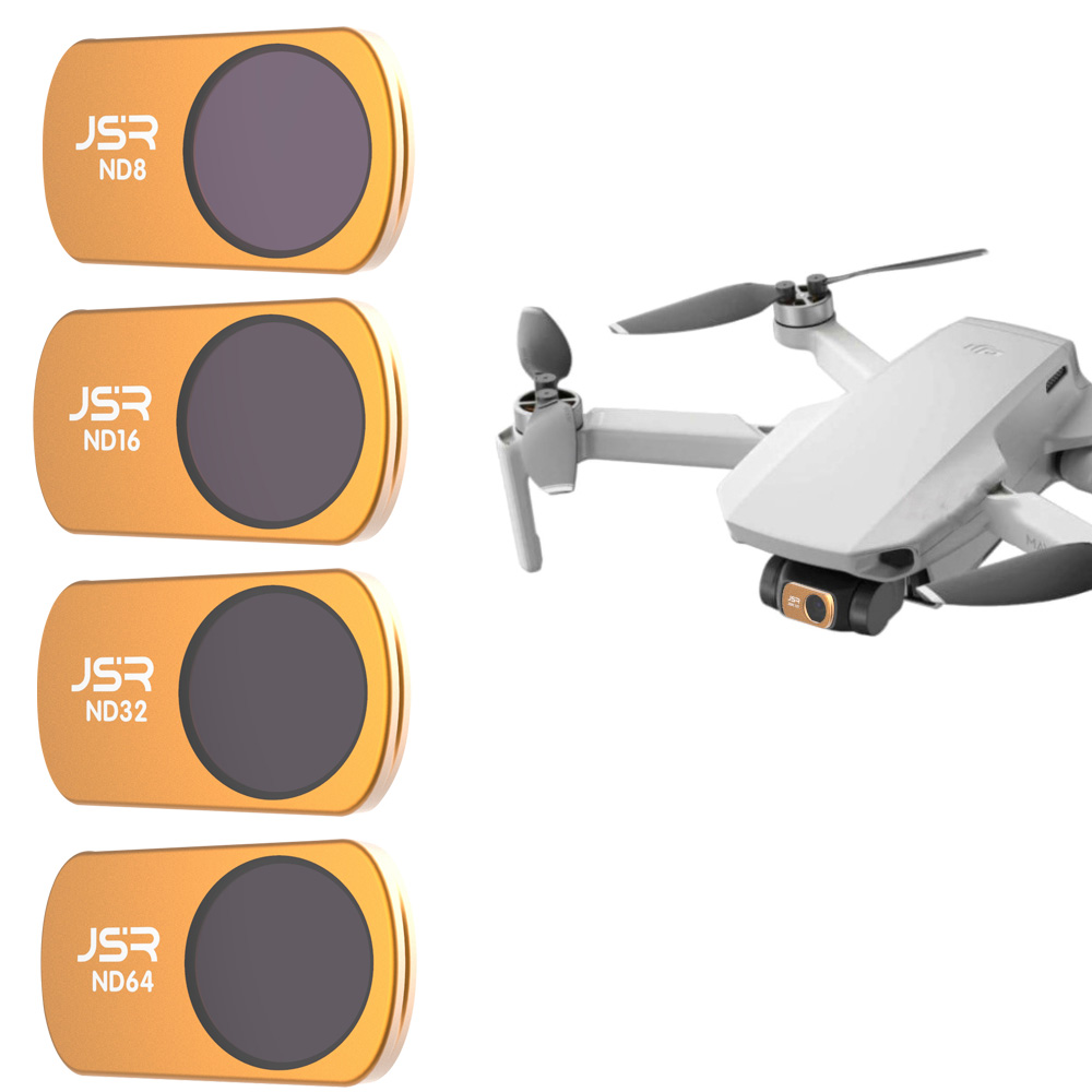 Drone Camera Accessories For DJI Mavic Mini Lens Protector Filter ND8+ND16+ND16+ND32 Filters Neutral Density Set For Mavic Mini