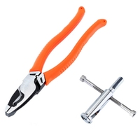 9 Inch Cable Cutter 225Mm Wire Stripper with Decrustation Pliers Electrician Crimping Pliers Hand Tools Pliers     -