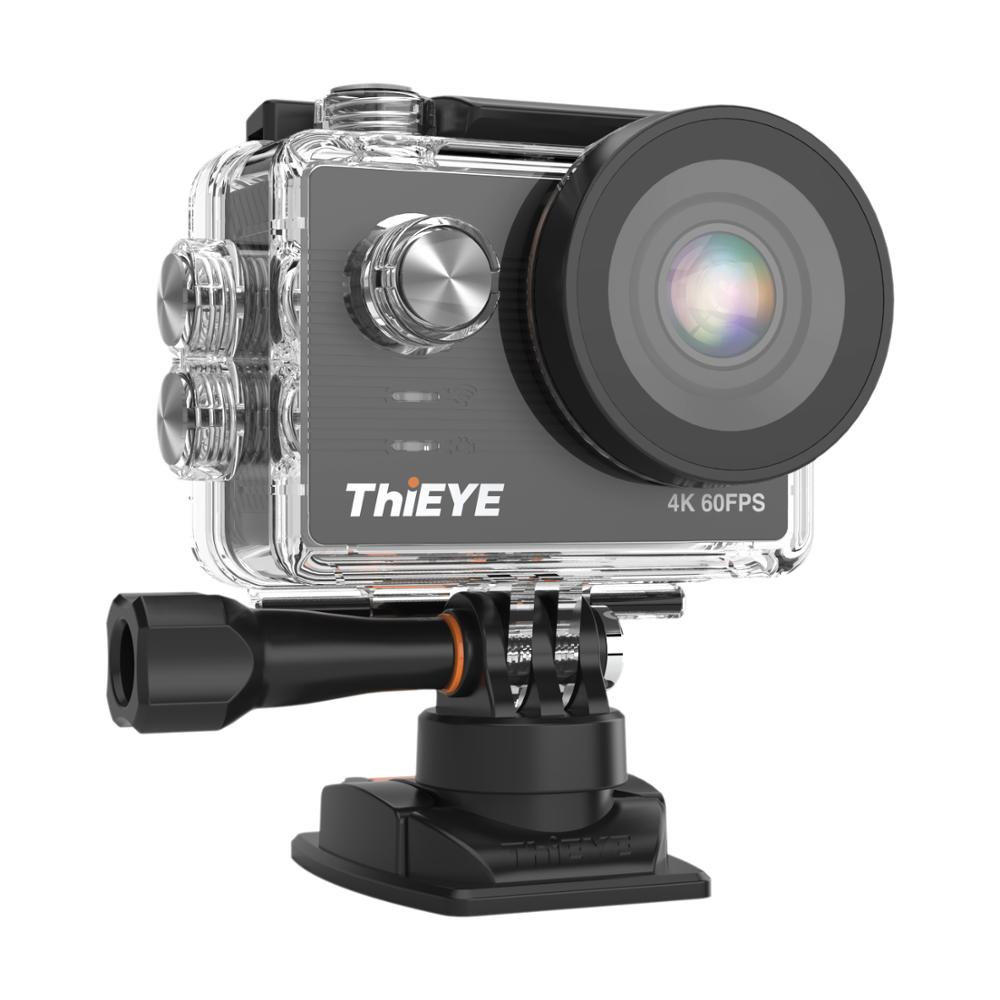 Image 4 - ThiEYE T5 Pro With Live Stream WiFi Action Camera Real 4K Ultra HD Sport Cam with EIS Distortion Remote Control 60M Waterproof-in Sports & Action Video Camera from Consumer Electronics