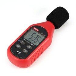 Bluetooth cyfrowy LCD Mini miernik poziomu hałasu głośności dźwięku detektor Decibel Monitoring Tester 30 130dB w Mierniki poziomu dźwięku od Narzędzia na