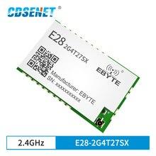 SX1281 LoRa FLRC GFSK 2.4GHz 27dBm Long Distance Wireless Serial Port Module CDSENET