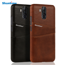 Vintage Leather Wallet Case Card Slot For Ulefone Power 3 3S Cover Vernee X Back