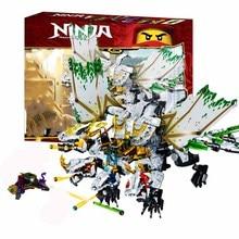 1100 stücke Ninja mirage ultimative drachen komplexe kompatibel lepining ninjagoes Bausteine Ziegel Spielzeug Action figuren Spielzeug Geschenke