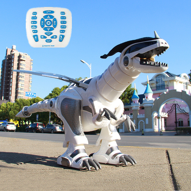 66CM Large Smart Robot Toy RC Dinosaur Touch Sensing Smart Conversation English Popular Science Teaching Educational Robotics