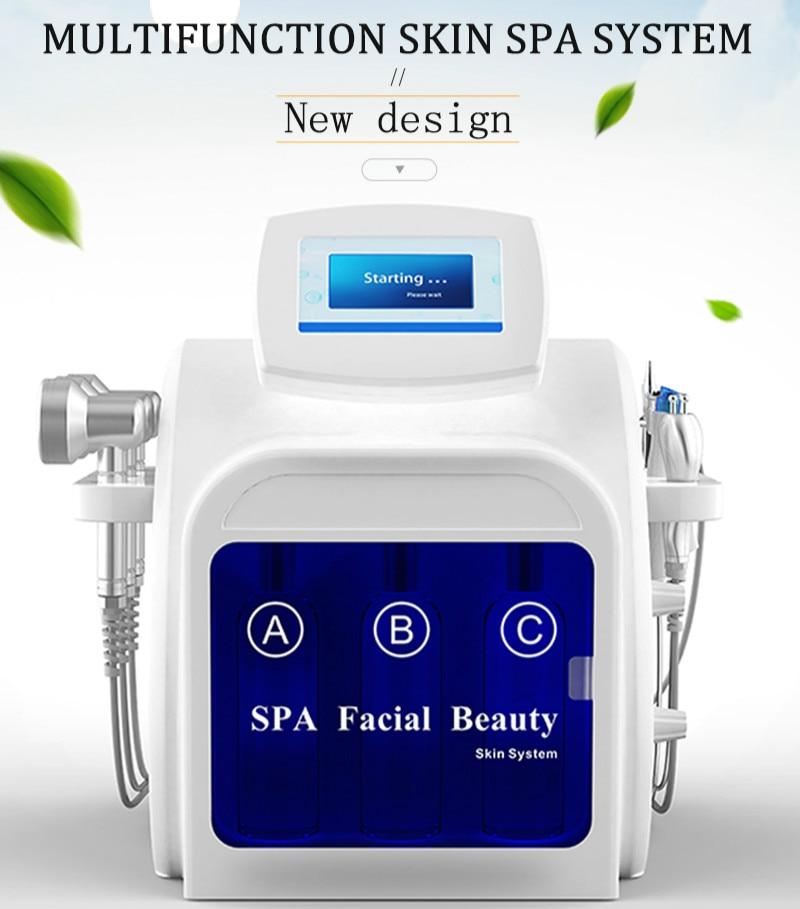 2020 New Arrival Multifunction Facial Peel Vacuum Cleaner Machine Hydra Dermabrasion Machine Vacuum Roller Skin Scrubber Machine