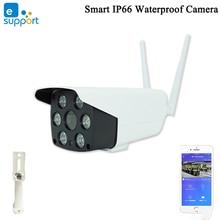 Ewelink 스마트 IP66 방수 카메라 스마트 와이파이 카메라 1080P 양방향 오디오 인터폰 나이트 비전 IR LED 카메라 야외 카메라