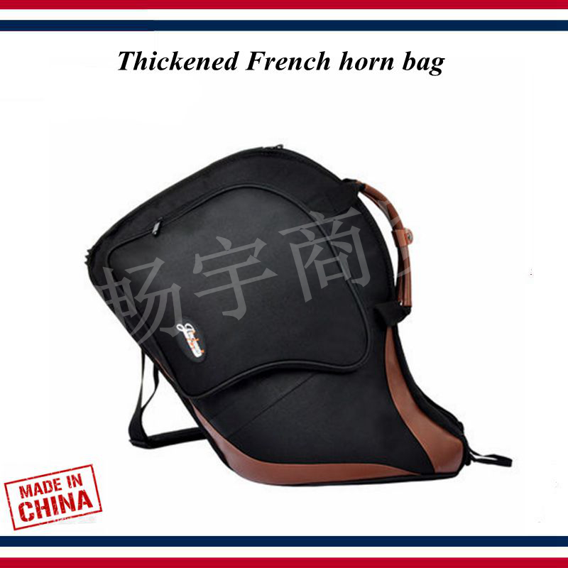 French Horn Bag  Cotton Bags Musical Instruments Thickened Waterproof Backpack  Accesorios Instrumentos Musicales