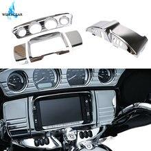 Обтекатель для мотоциклетного хромированного прибора панель