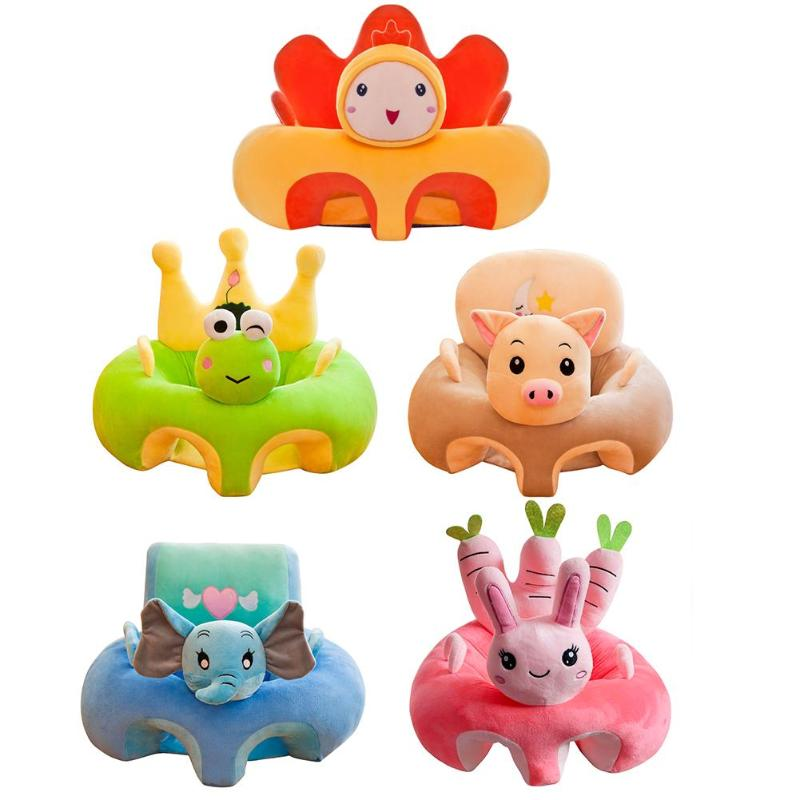 Creative Cartoon Baby Sofa Cover Learning To Sit Seat Feeding Chair Case Baby Sofa Support Seat Cover