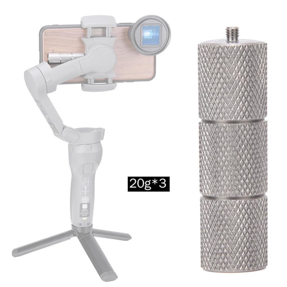 ULANZI PT-10 20g*3 Aluminum Alloy Lens Balance Counterweight For DJI Osmo Mobile 3 Gimbal Accessories
