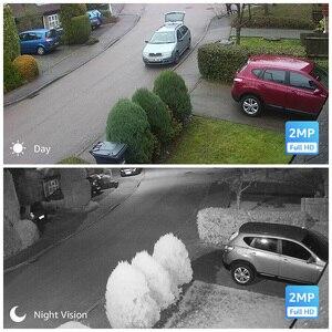 Image 5 - Камера наружного видеонаблюдения H.View, камера безопасности, 16 каналов, 1080 пикселей, DVR, поддержка iPhone, Android, дистанционный контроль