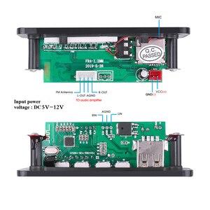 Image 5 - Плата декодера MP3 WMA DC 5 12 в, Bluetooth V5.0, аудио модуль, USB TF FM радио AUX mp3 плеер, гарнитура для автомобиля, поддержка записи