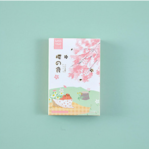 L197- Flower Food Paper Greeting Card Lomo Card(1pack=28pieces)
