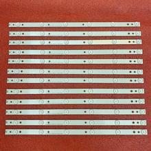 New 12pcs/set LED Backlight Strips for E50 C1 D50U D1 D50 D1 500TT43 V3 V4 EVTLBM500P0601 DN 2