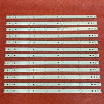 New 12pcs/set LED Backlight Strips for E50-C1 D50U-D1 D50-D1 500TT43 V3 V4 EVTLBM500P0601-DN-2 фото