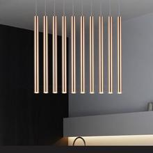 3cm x 30cm Diameter Led Pendant Lights 1 Lamps Transparent Acrylic Aluminum Metal Plating Dinning Living Room Modern Lighting