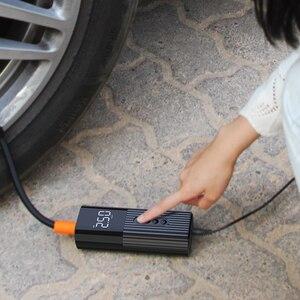 Image 4 - Neue Aufblasbare Pumpe Mini Tragbare Luft Kompressor mit LED Beleuchtung Reifen Inflator 12V 150PSI Draht Luftpumpe für Auto fahrrad bälle
