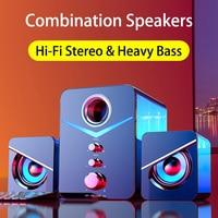 Home Theater System Caixa De Som PC Bass Subwoofer Bluetooth Speaker Computer Speakers Music Boombox Desktop Laptop Altavoces TV