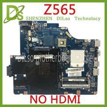 KEFU LA-5754P материнская плата для lenovo G565 Z565 материнская плата для ноутбука Z565 материнская плата для тестирования