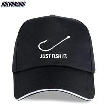 Бейсболка рыболовная с забавным принтом «just fish it» мужская