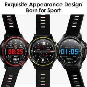 Image 2 - L8 ساعة ذكية الرجال IP68 مقاوم للماء Reloj Hombre وضع SmartWatch مع ECG PPG ضغط الدم معدل ضربات القلب الرياضة جهاز تعقب للياقة البدنية