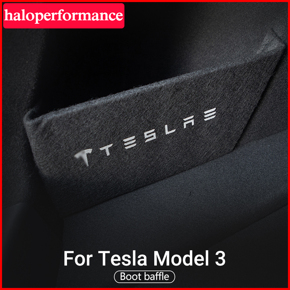 Model3 Trunk Boot Baffle For Tesla Model 3 Baffle Trunk Partition Parts Car Accessories Tail Box Storage Baffle Model Three