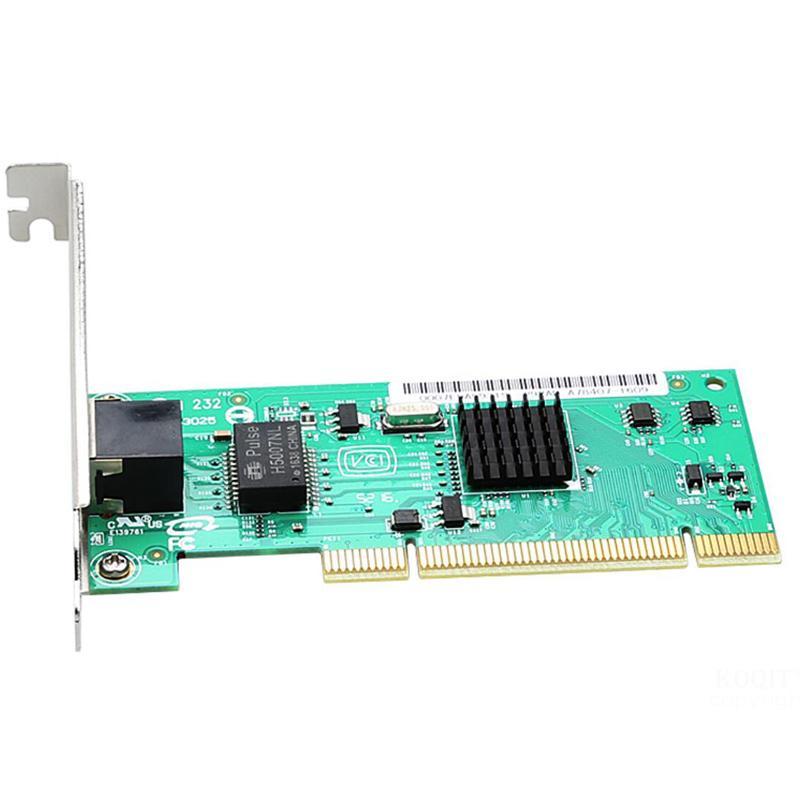 1000Mbps Gigabit Ethernet RJ-45 Lan Card PCI Network Card  Diskless Network Adapter Converter For PC High Quality
